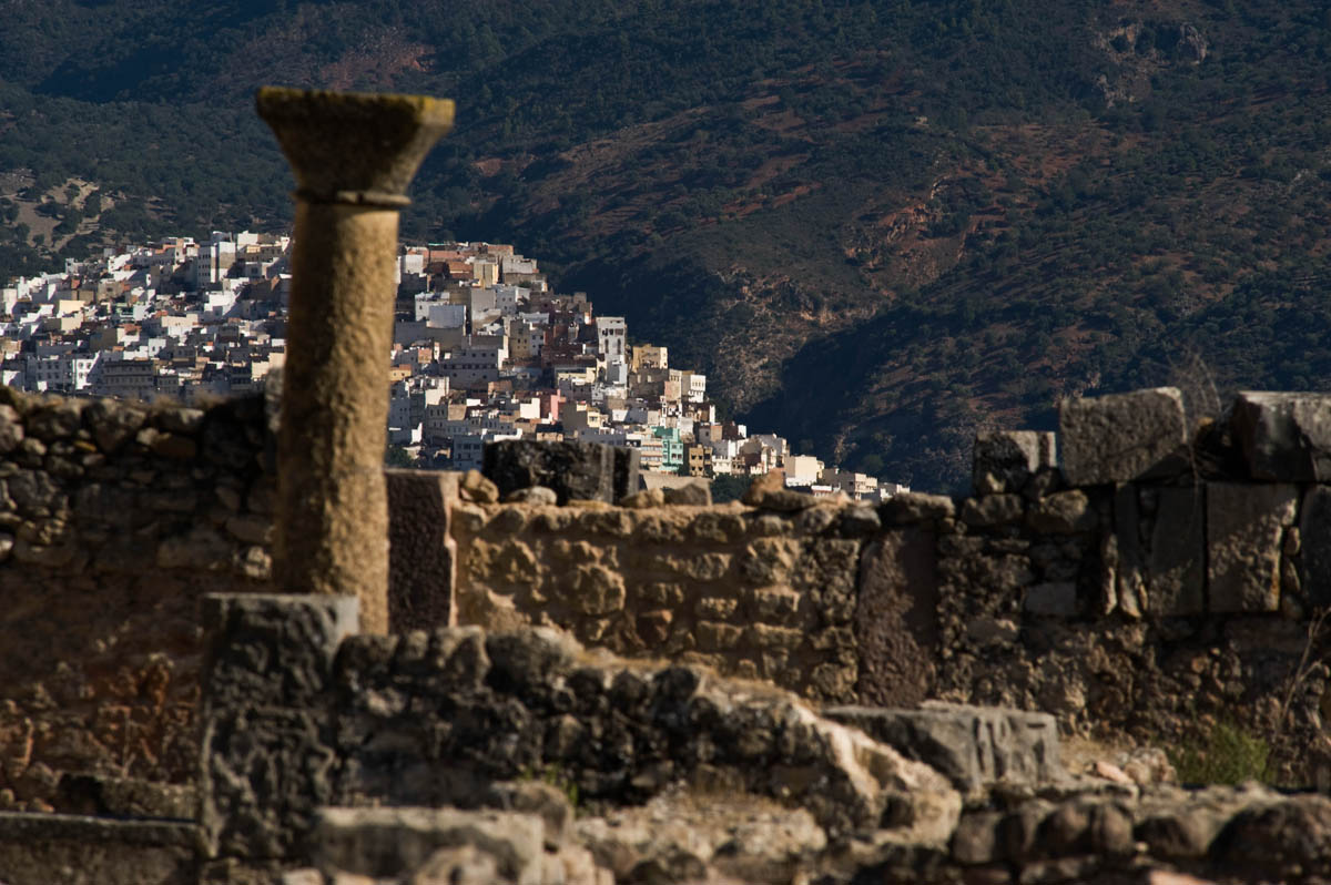 Volubilis and Moulay Idriss, Morocco
