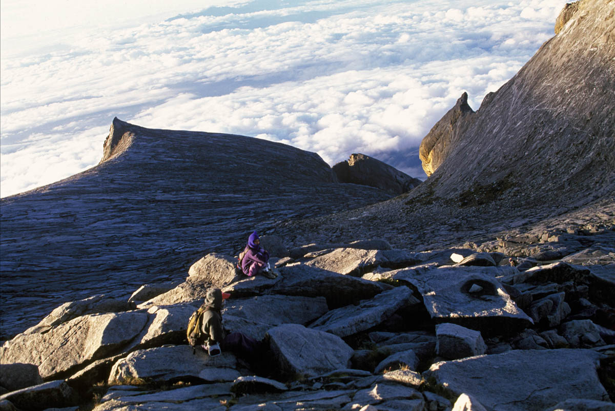 Summit of Mt Kinabalu. Borneo