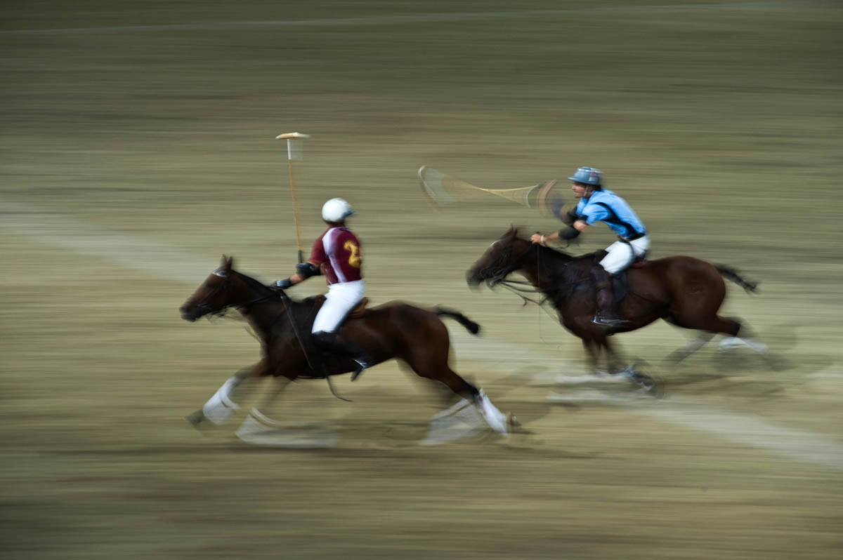 Polo play off.